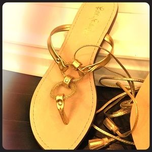 Lily Pulitzer Sandals- worn one time